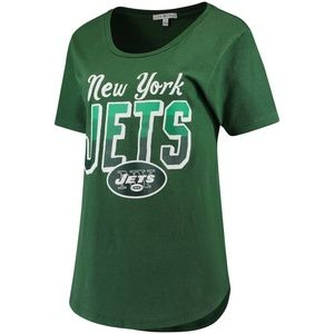 New York Jets Junk Food Women's Game Time T-Shirt